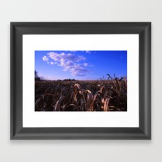 In Love With Fall Framed Art Print