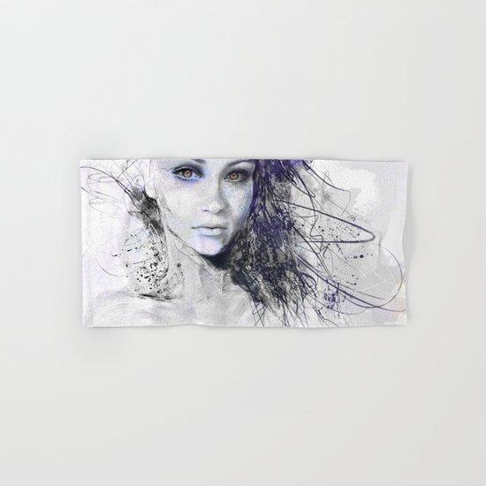 Ghost Girl #eyes Hand & Bath Towel