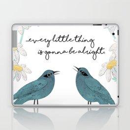 Three Little Birds, Part 2 Laptop & iPad Skin