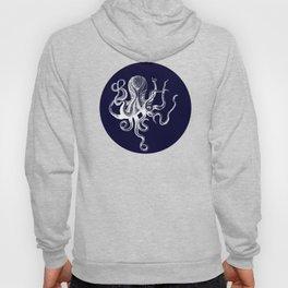 Vintage Octopus Blue Hoody
