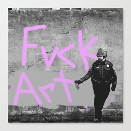 Fvck Art Canvas Print