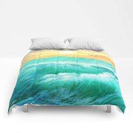 Light in a storm Comforters