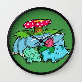 Pokémon - Number 1, 2 & 3 Wall Clock