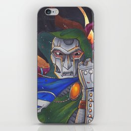 Dr Doom rules all iPhone Skin