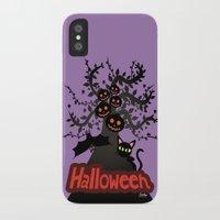 halloween iPhone & iPod Cases featuring Halloween by BATKEI (Keiko W)