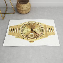 Roman Numeral Day-Date | 18K Yellow Gold | 36 Mm Rug