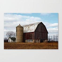 Wisconsin Dairy Barn Canvas Print