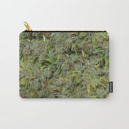 cannabis bud, marijuana macro Carry-All Pouch