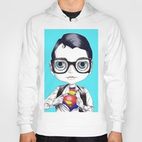 superman Hoodies featuring superman by Studio de Shan