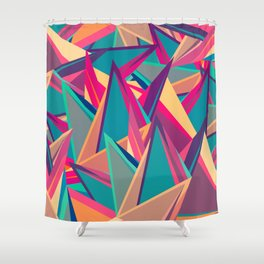 Triangles Intensive (Full) Shower Curtain