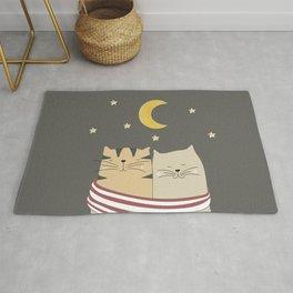 Moon Cats Rug