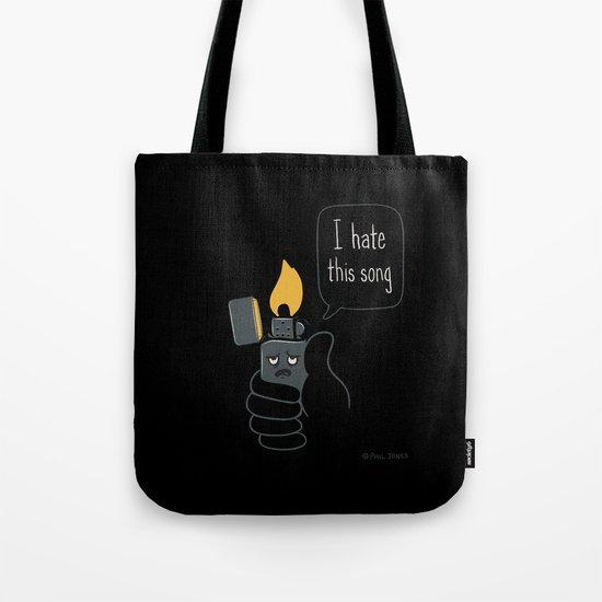 Mad Music Lighter Tote Bag