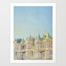 SF Tops 3 Art Print