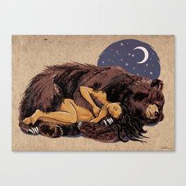I love my Bear Canvas Print