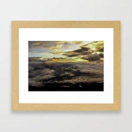 Mount Fuji Sunrise Framed Art Print