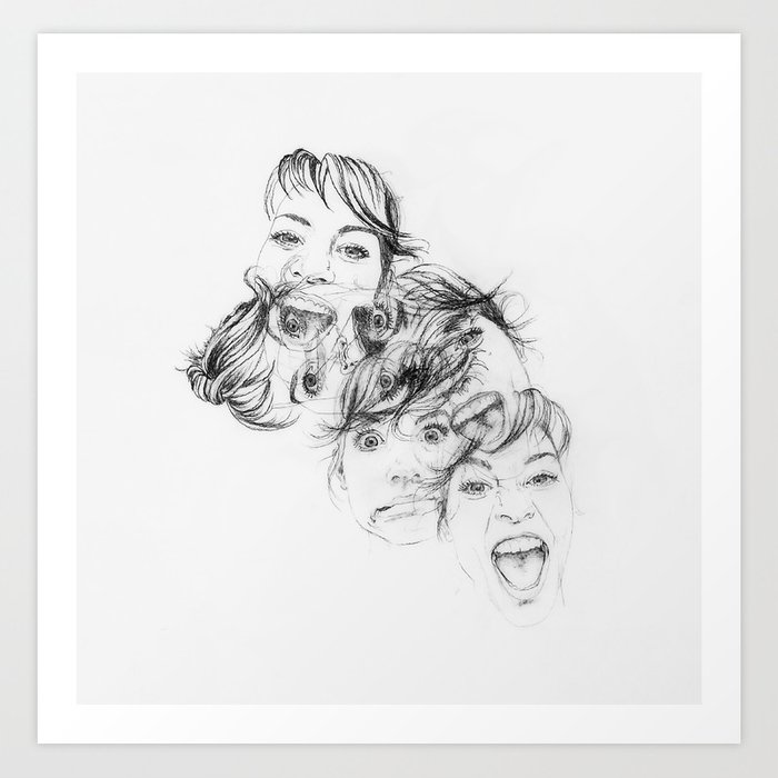 All of Me Art Print