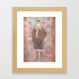 Adam Framed Art Print