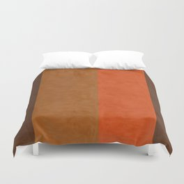 Shades of Brown Duvet Cover