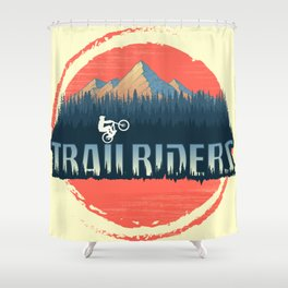 Trailriders Shower Curtain