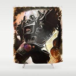 League of Legends BLITZCRANK Shower Curtain