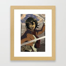 Mikasa Framed Art Print