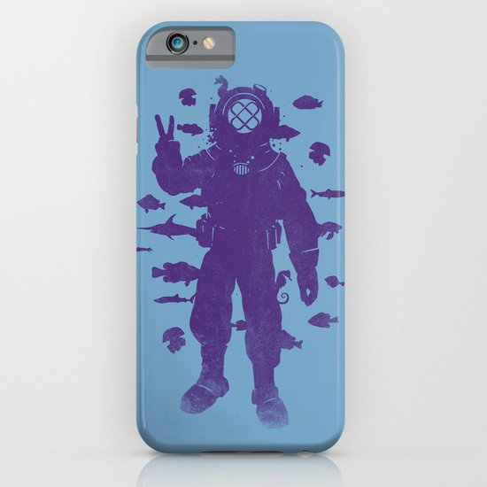 peace under water iPhone & iPod Case