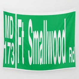 Fort Smallwood Road Wall Tapestry