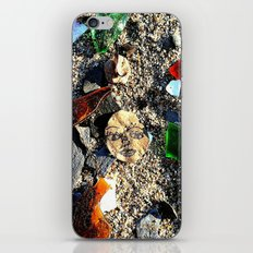 Lady in the Sand iPhone & iPod Skin