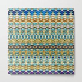 Mix&Match Byzantine Mosaic 02 Metal Print
