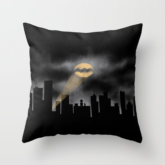Calling Out Throw Pillow