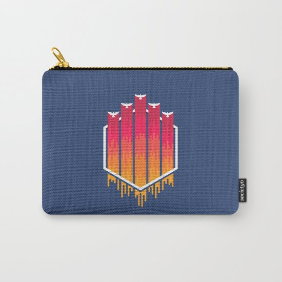 The Color Of The Night Carry-All Pouch