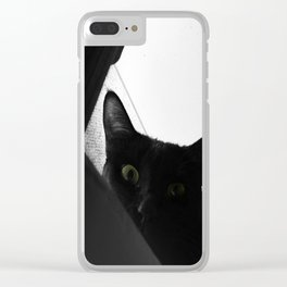 Loko's Dark Intentions: You Are Beneath Me Clear iPhone Case