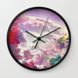 Clouds #galaxy Wall Clock
