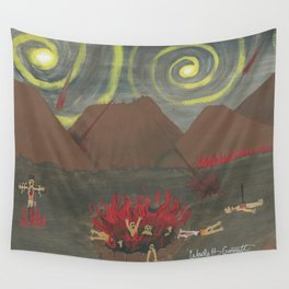 Hell Wall Tapestry