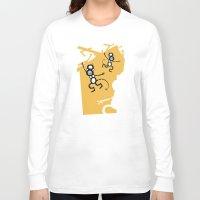 arctic monkeys Long Sleeve T-shirts featuring Monkeys by Josè Sala
