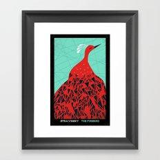 The Firebird - Stravinsky Framed Art Print