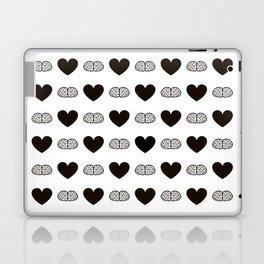 Hearts & Brains / S01-BW Version Laptop & iPad Skin