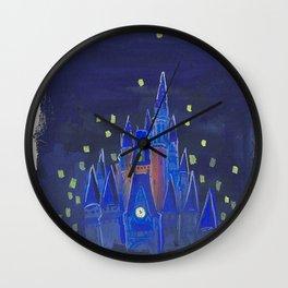 Cinderella Castle Wall Clock