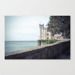 Ancient castle Canvas Print