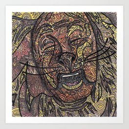 Cowardly Lion © 2012 Art Print