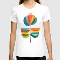 whimsical T-shirts featuring Whimsical Bloom by Picomodi