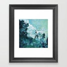 Slide Wave Framed Art Print