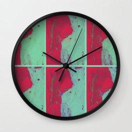 TedWarhol No.2 Wall Clock