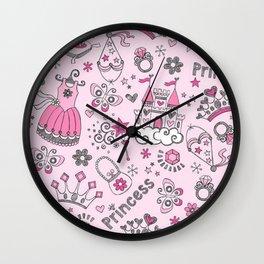 Princess Mania Wall Clock