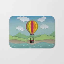 Balloon Aeronautics Sea & Sky Bath Mat