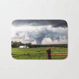 Siren - Large Tornado In Texas Panhandle Bath Mat