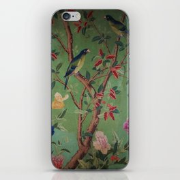 Green Dream Chinoiserie iPhone Skin