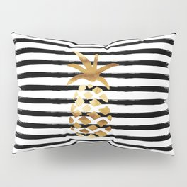 Pineapple & Stripes Pillow Sham