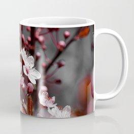 Pink Apple Tree Blossoms Photography Coffee Mug