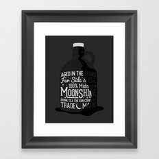 Midnight Moonshine Framed Art Print